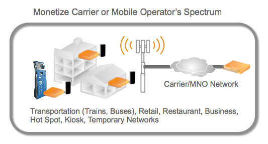 Monetize Carrier or Mobile Operator's Spectrum
