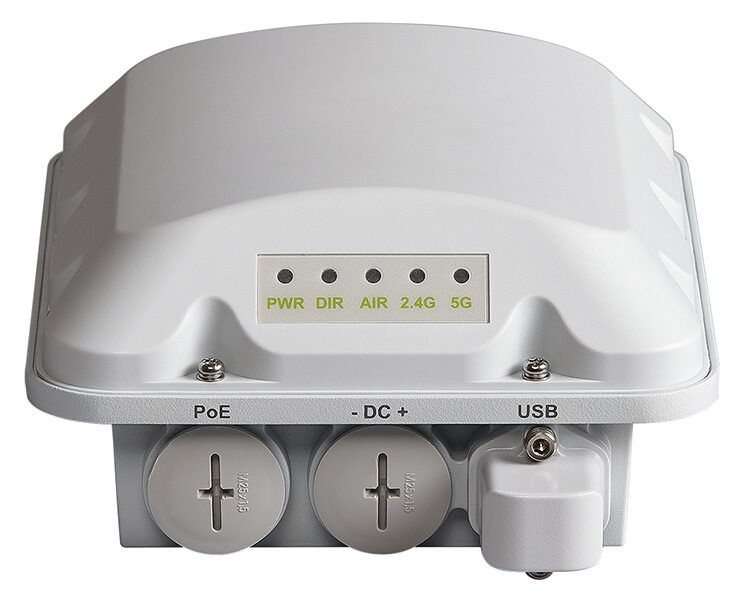 T310d, omni, outdoor access point, 802.11ac Wave 2 2x2:2 internal BeamFlex+, dual band concurrent